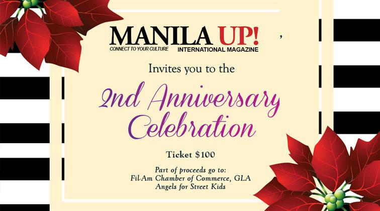 Manila Up Magazine 2nd Anniversary!