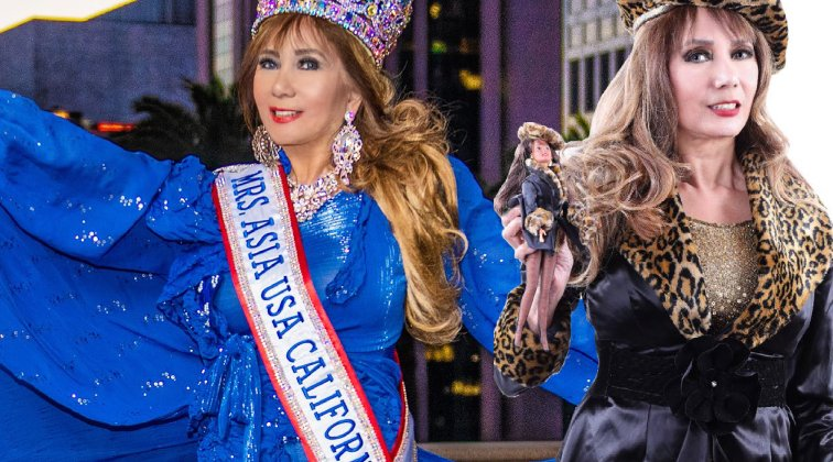 Mrs. Asia USA California 2019 Corazon Ugalde Yellen Armenta